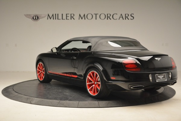 Used 2013 Bentley Continental GT Supersports Convertible ISR for sale Sold at Bentley Greenwich in Greenwich CT 06830 18