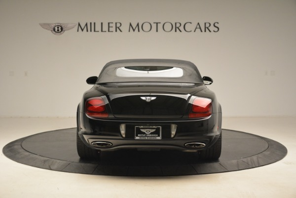 Used 2013 Bentley Continental GT Supersports Convertible ISR for sale Sold at Bentley Greenwich in Greenwich CT 06830 19