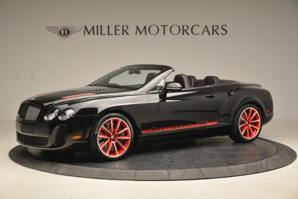 Used 2013 Bentley Continental GT Supersports Convertible ISR for sale Sold at Bentley Greenwich in Greenwich CT 06830 2