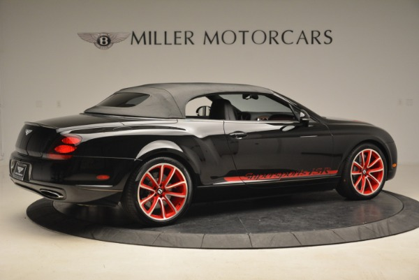Used 2013 Bentley Continental GT Supersports Convertible ISR for sale Sold at Bentley Greenwich in Greenwich CT 06830 21