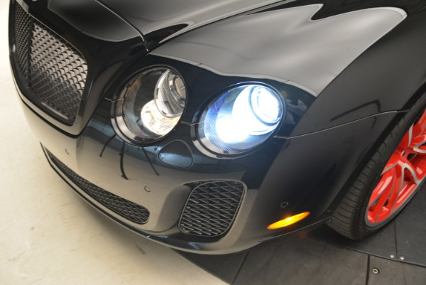 Used 2013 Bentley Continental GT Supersports Convertible ISR for sale Sold at Bentley Greenwich in Greenwich CT 06830 26