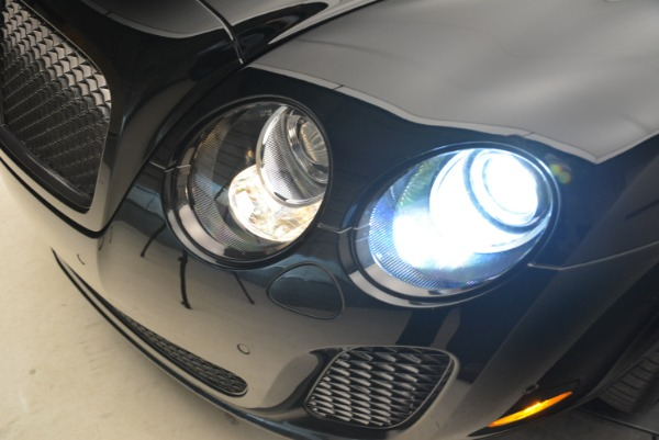 Used 2013 Bentley Continental GT Supersports Convertible ISR for sale Sold at Bentley Greenwich in Greenwich CT 06830 27