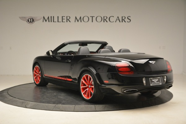 Used 2013 Bentley Continental GT Supersports Convertible ISR for sale Sold at Bentley Greenwich in Greenwich CT 06830 5