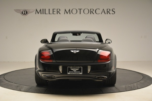 Used 2013 Bentley Continental GT Supersports Convertible ISR for sale Sold at Bentley Greenwich in Greenwich CT 06830 6