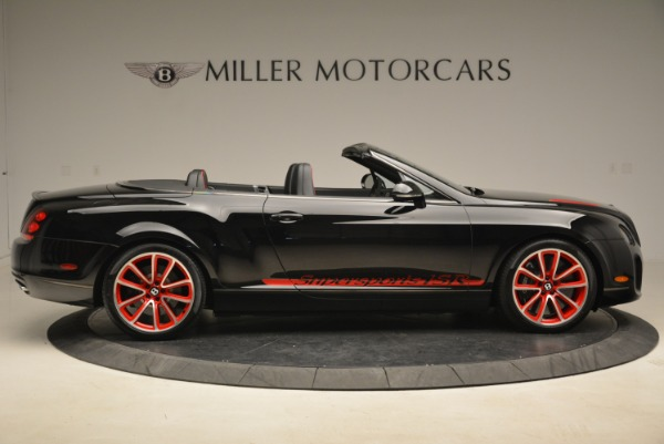 Used 2013 Bentley Continental GT Supersports Convertible ISR for sale Sold at Bentley Greenwich in Greenwich CT 06830 9