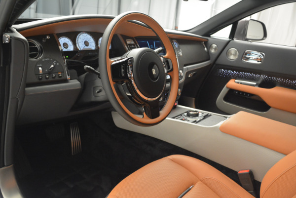 New 2018 Rolls-Royce Wraith Luminary Collection for sale Sold at Bentley Greenwich in Greenwich CT 06830 17