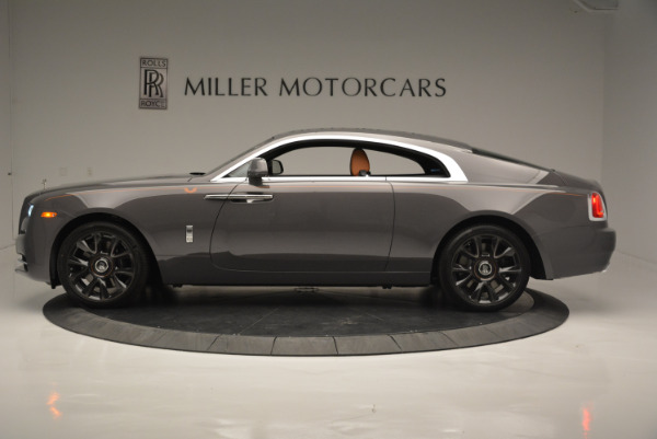 New 2018 Rolls-Royce Wraith Luminary Collection for sale Sold at Bentley Greenwich in Greenwich CT 06830 2