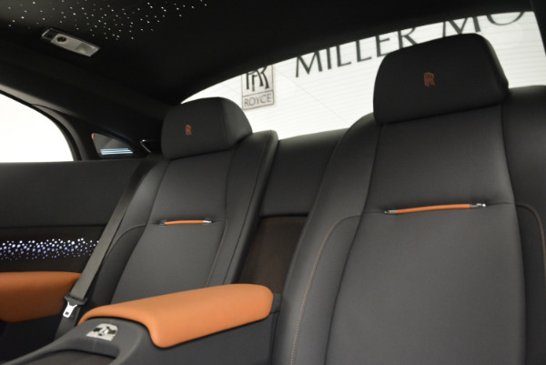 New 2018 Rolls-Royce Wraith Luminary Collection for sale Sold at Bentley Greenwich in Greenwich CT 06830 20