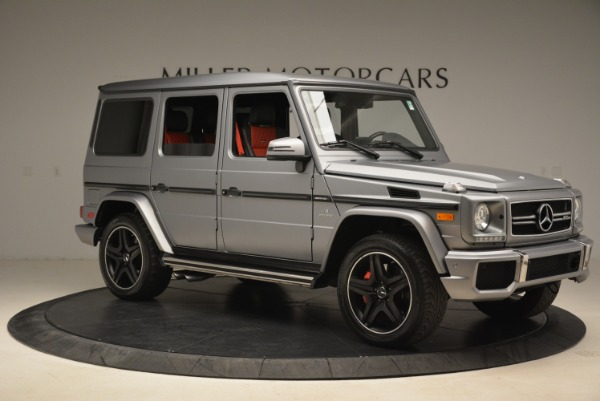 Used 2017 Mercedes-Benz G-Class AMG G 63 for sale Sold at Bentley Greenwich in Greenwich CT 06830 10