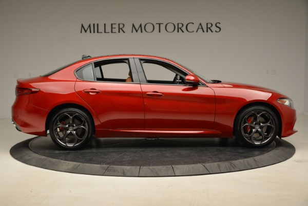 New 2018 Alfa Romeo Giulia Ti Sport Q4 for sale Sold at Bentley Greenwich in Greenwich CT 06830 9