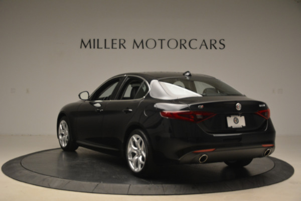 New 2018 Alfa Romeo Giulia Ti Q4 for sale Sold at Bentley Greenwich in Greenwich CT 06830 5