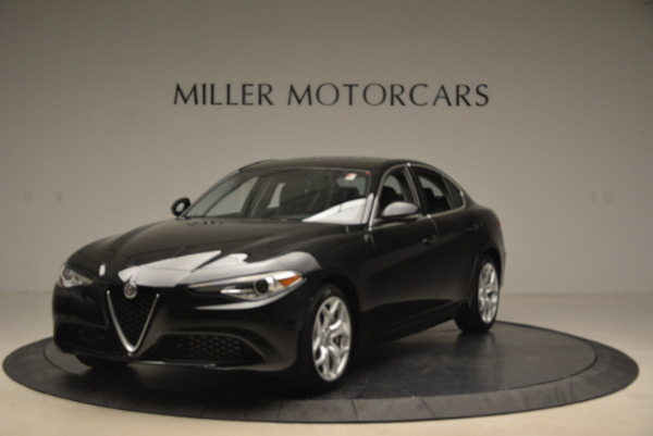 New 2018 Alfa Romeo Giulia Ti Q4 for sale Sold at Bentley Greenwich in Greenwich CT 06830 1