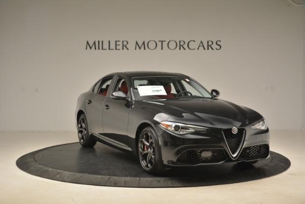 New 2018 Alfa Romeo Giulia Ti Sport Q4 for sale Sold at Bentley Greenwich in Greenwich CT 06830 11