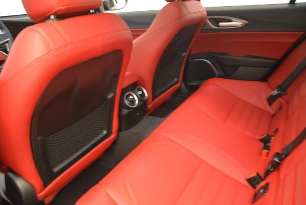 New 2018 Alfa Romeo Giulia Ti Sport Q4 for sale Sold at Bentley Greenwich in Greenwich CT 06830 16