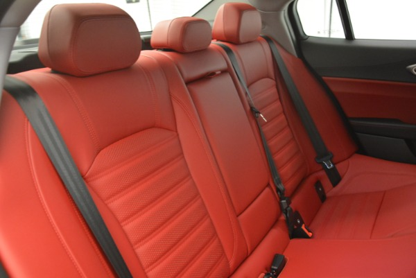 New 2018 Alfa Romeo Giulia Ti Sport Q4 for sale Sold at Bentley Greenwich in Greenwich CT 06830 24