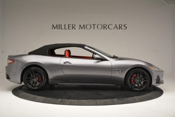 New 2018 Maserati GranTurismo Sport Convertible for sale Sold at Bentley Greenwich in Greenwich CT 06830 21