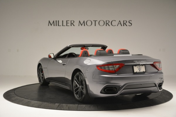 New 2018 Maserati GranTurismo Sport Convertible for sale Sold at Bentley Greenwich in Greenwich CT 06830 5