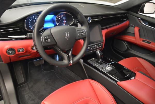 New 2018 Maserati Quattroporte S Q4 GranLusso for sale Sold at Bentley Greenwich in Greenwich CT 06830 14
