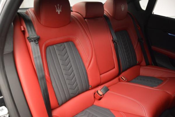 New 2018 Maserati Quattroporte S Q4 GranLusso for sale Sold at Bentley Greenwich in Greenwich CT 06830 26
