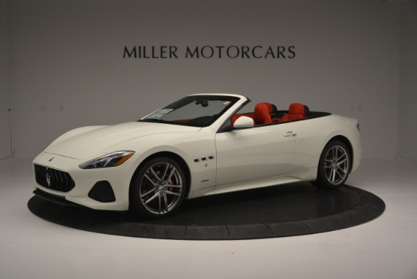 New 2018 Maserati GranTurismo Sport for sale Sold at Bentley Greenwich in Greenwich CT 06830 2