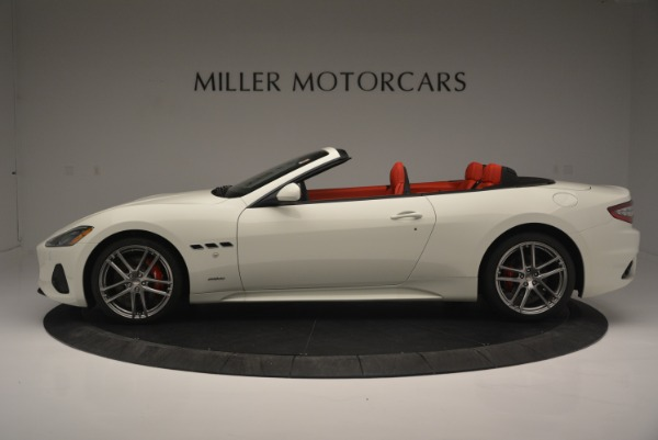 New 2018 Maserati GranTurismo Sport for sale Sold at Bentley Greenwich in Greenwich CT 06830 3
