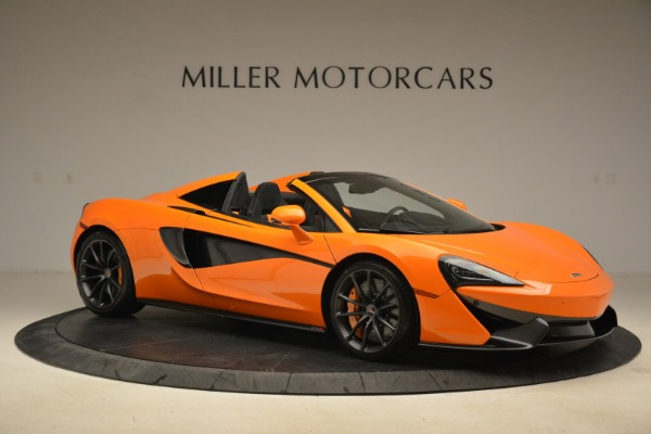 Used 2018 McLaren 570S Spider Convertible for sale Sold at Bentley Greenwich in Greenwich CT 06830 10