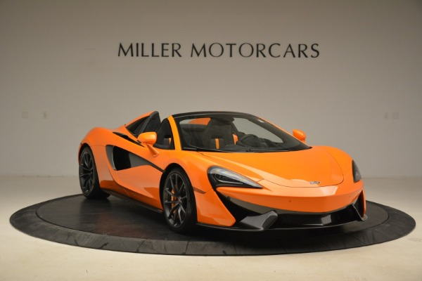 Used 2018 McLaren 570S Spider Convertible for sale Sold at Bentley Greenwich in Greenwich CT 06830 11