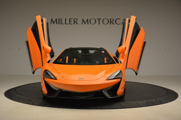 Used 2018 McLaren 570S Spider Convertible for sale Sold at Bentley Greenwich in Greenwich CT 06830 13