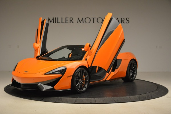 Used 2018 McLaren 570S Spider Convertible for sale Sold at Bentley Greenwich in Greenwich CT 06830 14