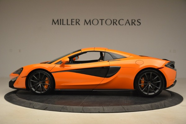 Used 2018 McLaren 570S Spider Convertible for sale Sold at Bentley Greenwich in Greenwich CT 06830 16