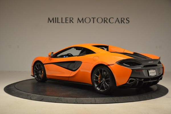 Used 2018 McLaren 570S Spider Convertible for sale Sold at Bentley Greenwich in Greenwich CT 06830 17