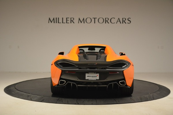 Used 2018 McLaren 570S Spider Convertible for sale Sold at Bentley Greenwich in Greenwich CT 06830 18