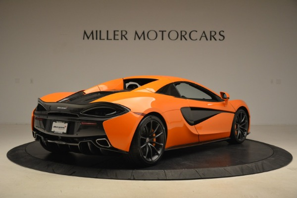 Used 2018 McLaren 570S Spider Convertible for sale Sold at Bentley Greenwich in Greenwich CT 06830 19