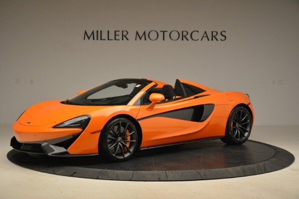 Used 2018 McLaren 570S Spider Convertible for sale Sold at Bentley Greenwich in Greenwich CT 06830 2