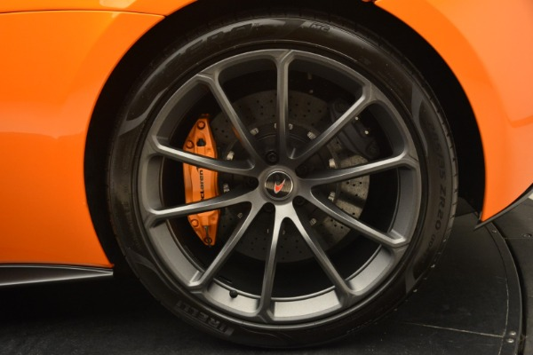 Used 2018 McLaren 570S Spider Convertible for sale Sold at Bentley Greenwich in Greenwich CT 06830 24