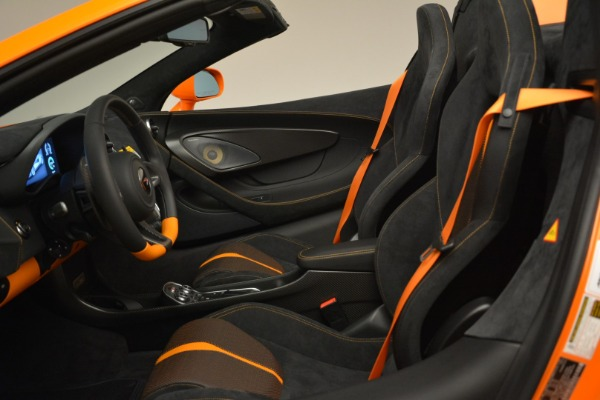 Used 2018 McLaren 570S Spider Convertible for sale Sold at Bentley Greenwich in Greenwich CT 06830 26