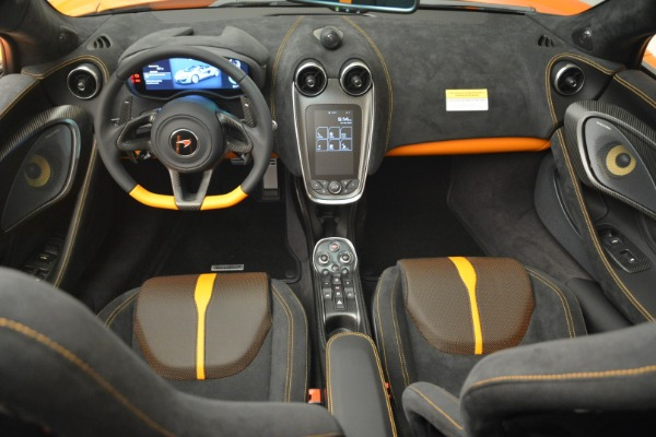 Used 2018 McLaren 570S Spider Convertible for sale Sold at Bentley Greenwich in Greenwich CT 06830 28