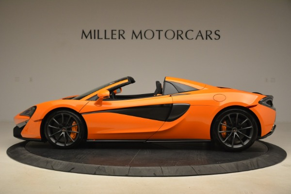 Used 2018 McLaren 570S Spider Convertible for sale Sold at Bentley Greenwich in Greenwich CT 06830 3