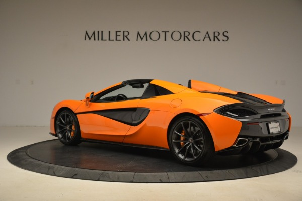 Used 2018 McLaren 570S Spider Convertible for sale Sold at Bentley Greenwich in Greenwich CT 06830 4