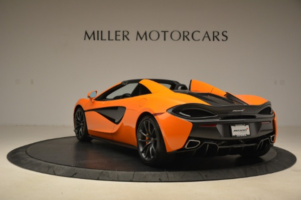 Used 2018 McLaren 570S Spider Convertible for sale Sold at Bentley Greenwich in Greenwich CT 06830 5