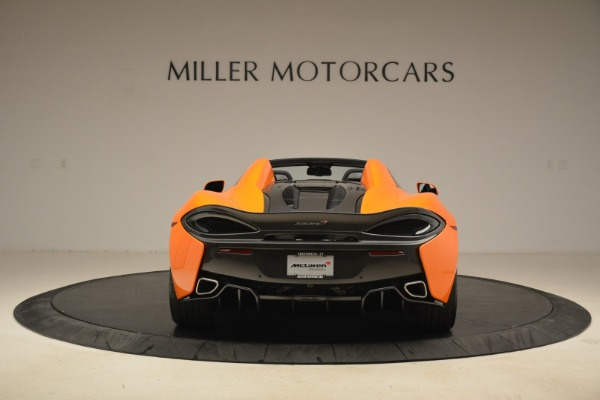 Used 2018 McLaren 570S Spider Convertible for sale Sold at Bentley Greenwich in Greenwich CT 06830 6