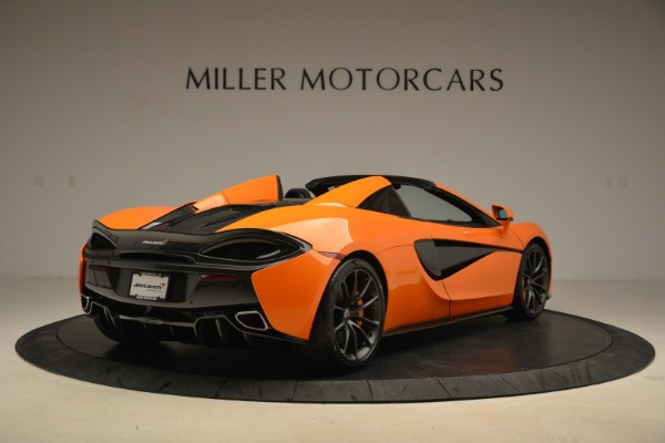 Used 2018 McLaren 570S Spider Convertible for sale Sold at Bentley Greenwich in Greenwich CT 06830 7