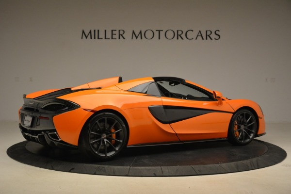 Used 2018 McLaren 570S Spider Convertible for sale Sold at Bentley Greenwich in Greenwich CT 06830 8