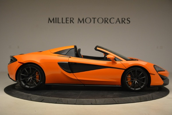 Used 2018 McLaren 570S Spider Convertible for sale Sold at Bentley Greenwich in Greenwich CT 06830 9