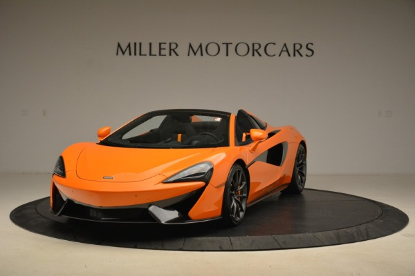 Used 2018 McLaren 570S Spider Convertible for sale Sold at Bentley Greenwich in Greenwich CT 06830 1