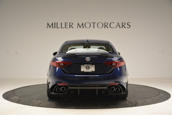 New 2018 Alfa Romeo Giulia Quadrifoglio for sale Sold at Bentley Greenwich in Greenwich CT 06830 6