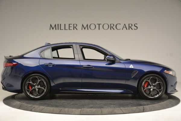 New 2018 Alfa Romeo Giulia Quadrifoglio for sale Sold at Bentley Greenwich in Greenwich CT 06830 9