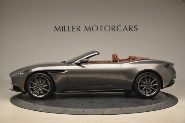 New 2019 Aston Martin DB11 Volante for sale Sold at Bentley Greenwich in Greenwich CT 06830 3