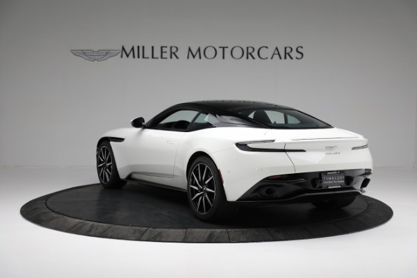 New 2018 Aston Martin DB11 V8 Coupe for sale Sold at Bentley Greenwich in Greenwich CT 06830 4