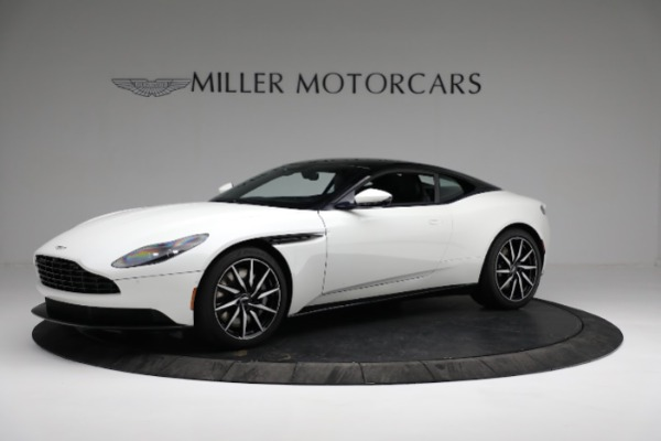 New 2018 Aston Martin DB11 V8 Coupe for sale Sold at Bentley Greenwich in Greenwich CT 06830 1